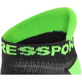 Compressport Racing V2 Run Low Socks Black/Green